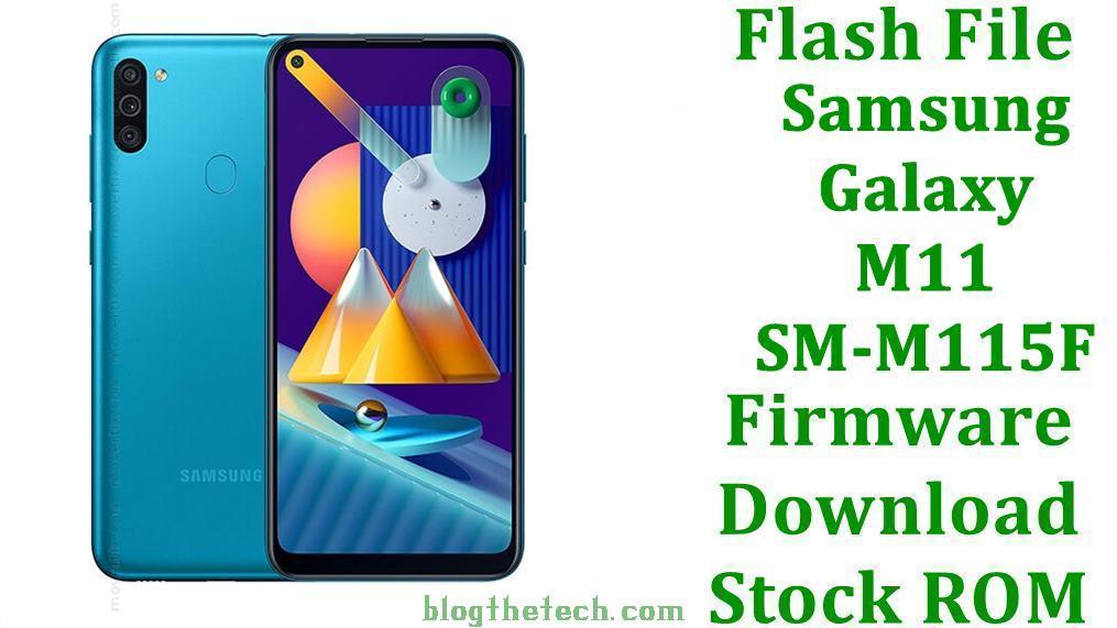 Samsung Galaxy M11 SM M115F